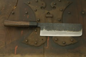 Swordsmith・Shigemitsu Ito Tamahagane Nakiri-hocyo 165㎜  (Tatara Homemade)