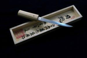 Swordsmith・25th Kanefusa Fujiwara Omamori Tanto