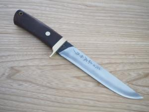 Nidai-honnjyouji Hunting Osirakawa 180mm Double Bevel Custom Collabo