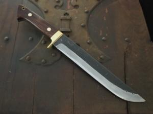 The 2nd HONJYOJI kohsiki Hunting knife 195mm・Double Bevel Custom collabo