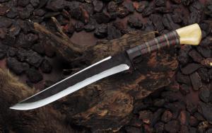 Hunting Knife Kanmuri-Otoshi 270mm Yoshihiko Akitomo