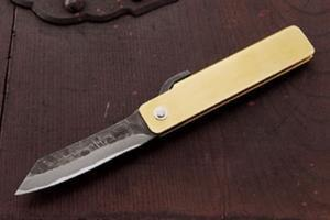 Seigen「Higo-Koshirae 」Kurouchi (Normal type Blade) 65㎜・Double Bevel