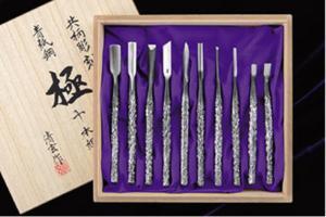 Seigen Chisels Kiwame 10 Set