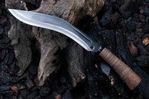 土居良明作 和式ククリ9寸5分・両刃
