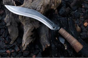 土居良明作 和式ククリ8寸5分・両刃