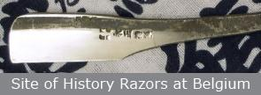 site of history razors at Belgium