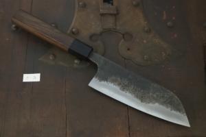 Swordsmith・Shigemitsu Ito  Tamahagane  Santoku 150㎜・Double Bevel