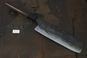 Swordsmith・Shigemitsu Ito  Tamahagane  Nakiri 180㎜