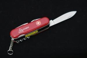 "Wenger Swiss army knife ""The Laser Pointer"", new old stock!! original box (1990's) New"