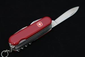 "Wenger Swiss Army knife ""The Champion"", New old stock !! (1990) New"