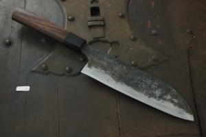Swordsmith・Shigemitsu Ito  Tamahagane  Santoku 180㎜・Double Bevel  S-10
