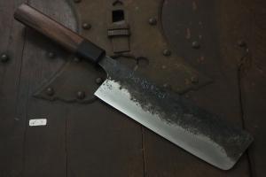 Swordsmith・Shigemitsu Ito  Tamahagane  Nakiri 180㎜(N-7)
