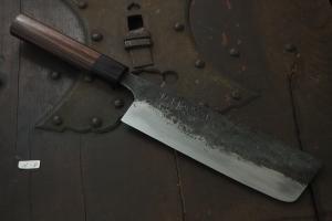 Swordsmith・Shigemitsu Ito  Tamahagane  Nakiri 180㎜(N-8)