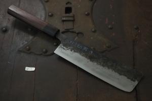 Swordsmith・Shigemitsu Ito  Tamahagane  Nakiri 180㎜(N-9)