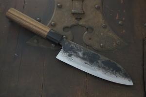 Swordsmith・Shigemitsu Ito  Tamahagane  Santoku  160㎜・Double Bevel  S-11